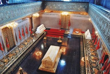 grobowiec Muhammada V