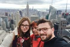 widok z Top of the Rock