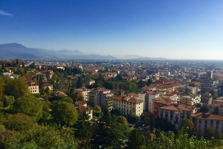 Citta Bassa, dolne miasto widziane z góry