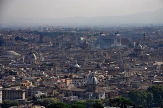 Widok na Rzym