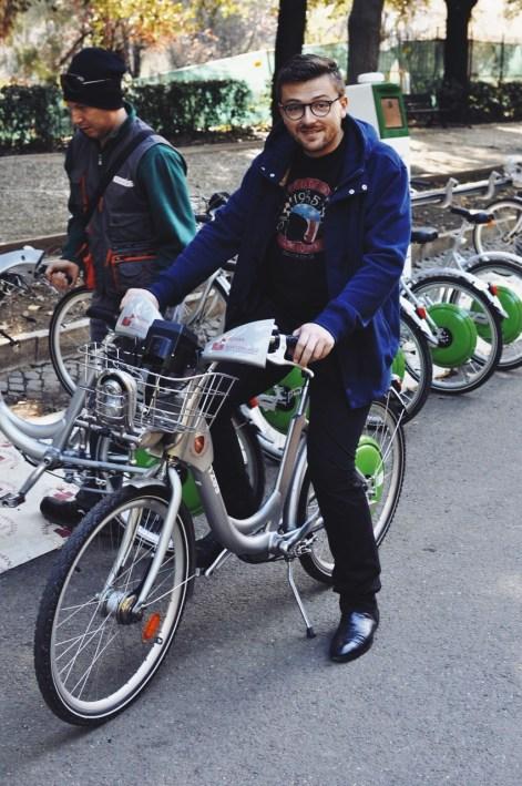 rowerem po parku Borghese