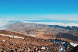 na szczycie Teide