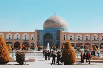 Isfahan, plac Imama | zdjęcie: Magdalena Garbacz-Wesołowska