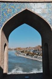 zdobienia mostu Khaju