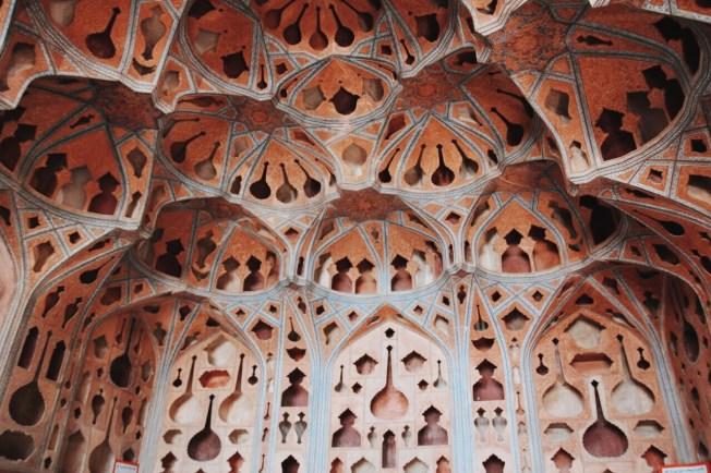 sala muzyków w pałacu Ali Qapu | zdjęcie Magdalena Garbacz-Wesołowska