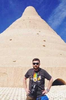 Yakhchāl, wieża lodu, Iran | zdj. Magdalena GW