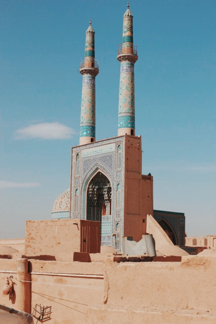 minarety Masjid-e Jame