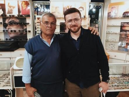 niemieckie okulary z Iranu
