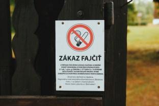 Zakaz fajczenia!