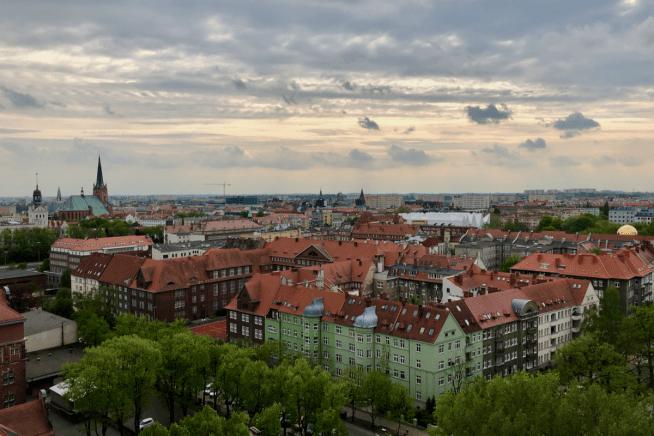 Szczecin widok na miasto