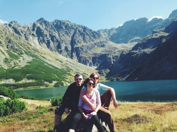 z siostrą i Johannesem