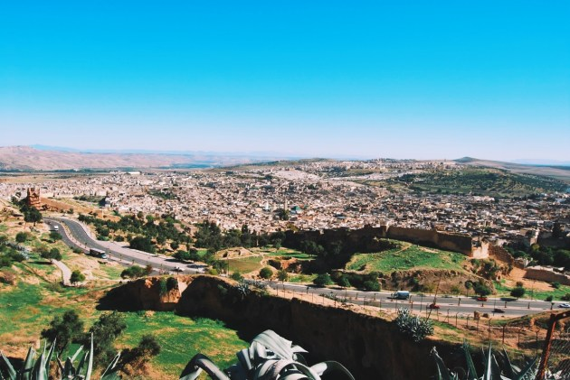 Fez widziany z okolicznego wzgórza
