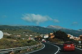 w drodze na Teide