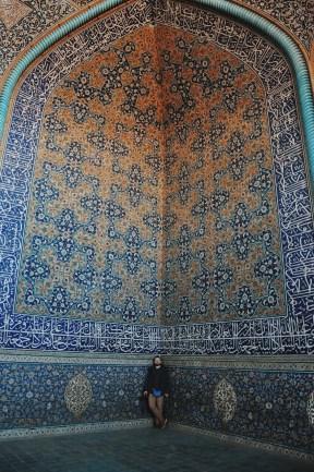 wnętrze meczetu Szejcha Loft Allaha | zdjęcie Magdalena Garbacz-Wesołowska