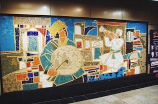 jedna ze stacji metra w Teheranie
