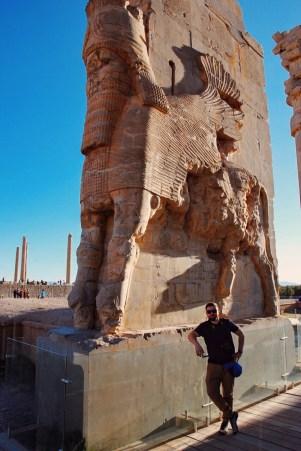 Brama Wszystkich Narodów   Persepolis   zdj. Magdalena Garbacz-Wesołowska