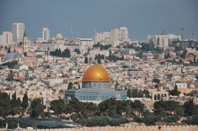 Kopuła meczetu na Skale, symbol Jerozolimy