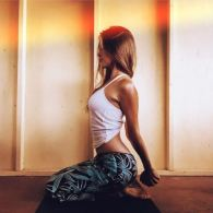 yin yoga girl