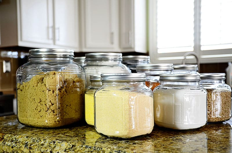 DIY airtight glass containers using sugra