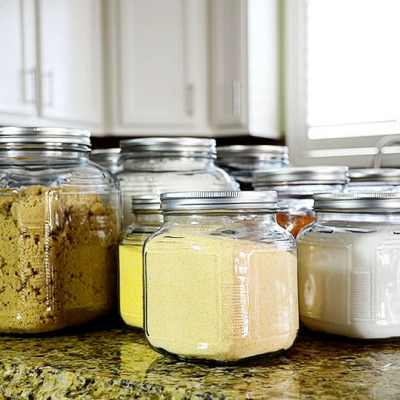 HOW TO TURN ORDINARY JARS INTO AIRTIGHT GLASS CONTAINERS