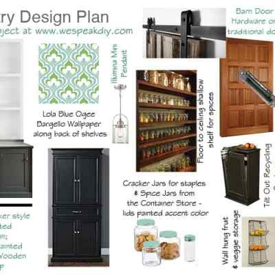 OUR PANTRY DESIGN RENOVATION PLAN