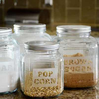 HOW TO MAKE YOUR OWN ETCHED GLASS CONTAINERS