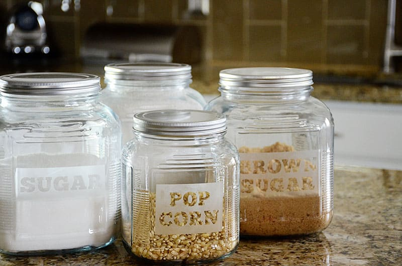 custom etched containers