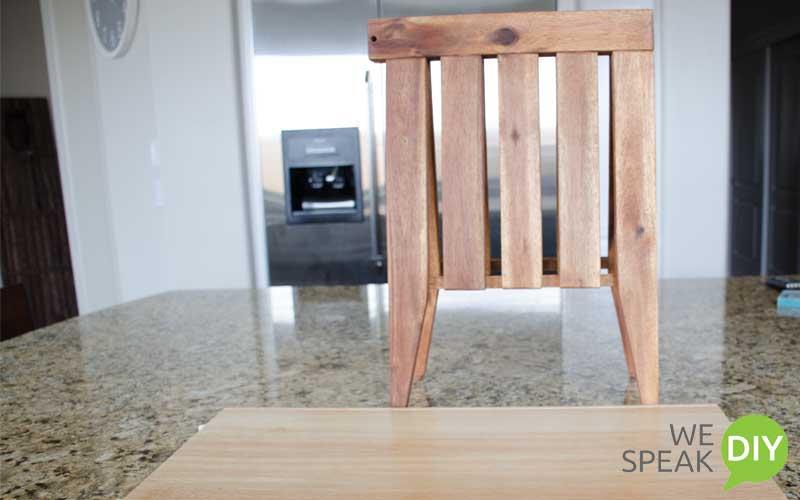 scrap wood bench materials