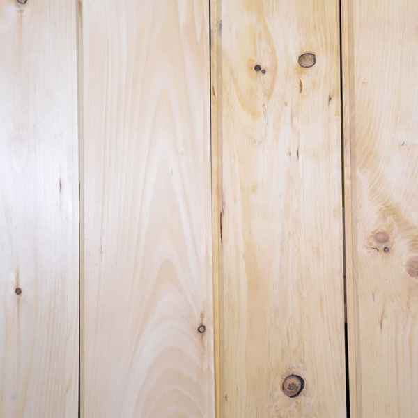 Unstained Pine Wood Planks