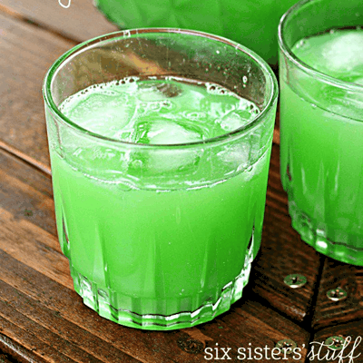Green Evergreen Punch Recipe for St. Patrick's Day