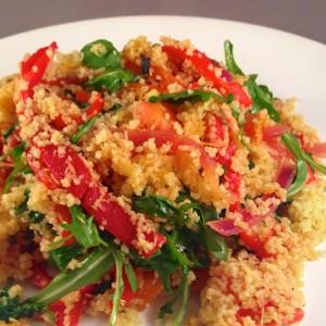 Couscous met gegrilde paprika's 1