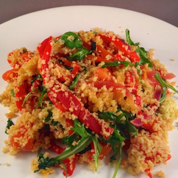 Couscous met gegrilde paprika's 2