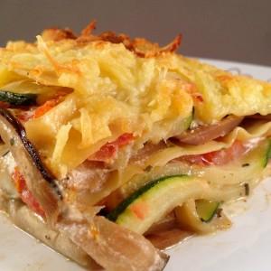 Griekse lasagne 1