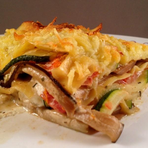 Griekse lasagne 2