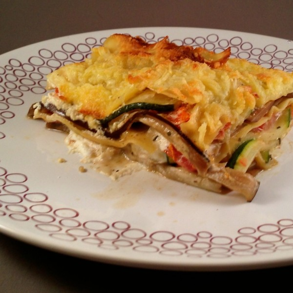 Griekse lasagne 3