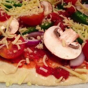 Huisgemaakte pizza 2
