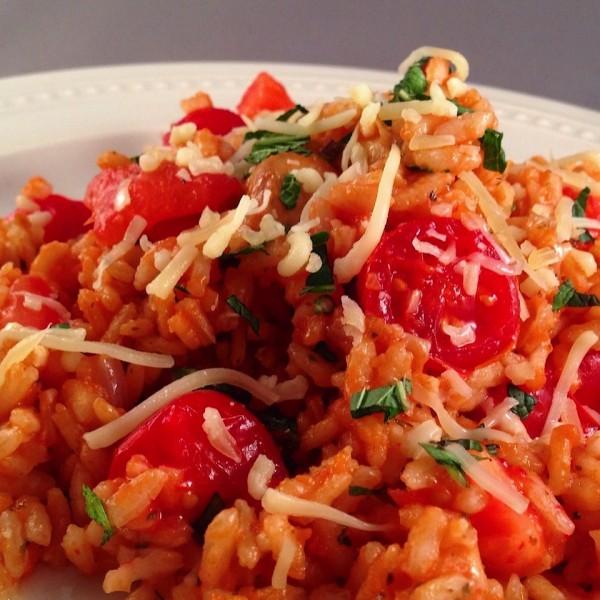 Risotto alla tomato 3