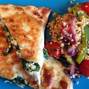 Originele Gozleme (turkse pizza)