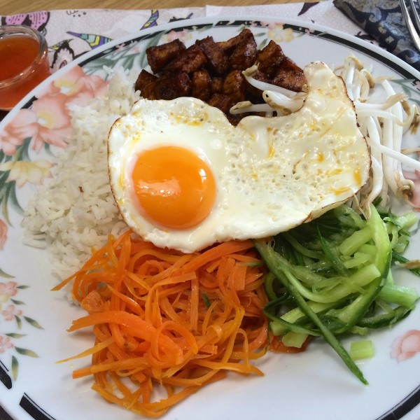 Koreaanse bibimbap2