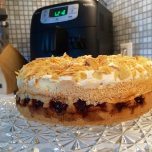 luchtige kersen taart5