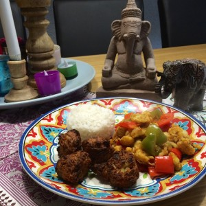 indiase bhajji met jalfrezi1