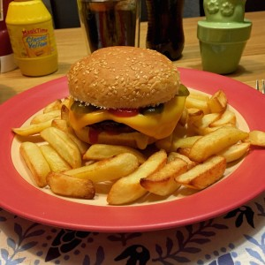 vegetarische cheeseburger1