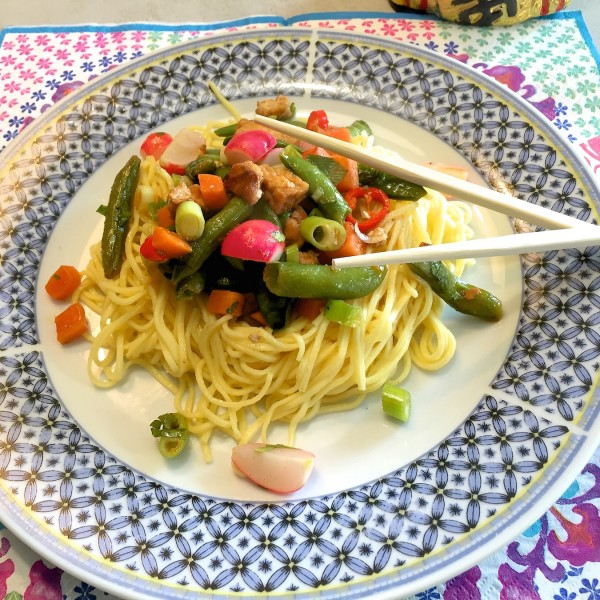 Thaise-noedel-salade 2