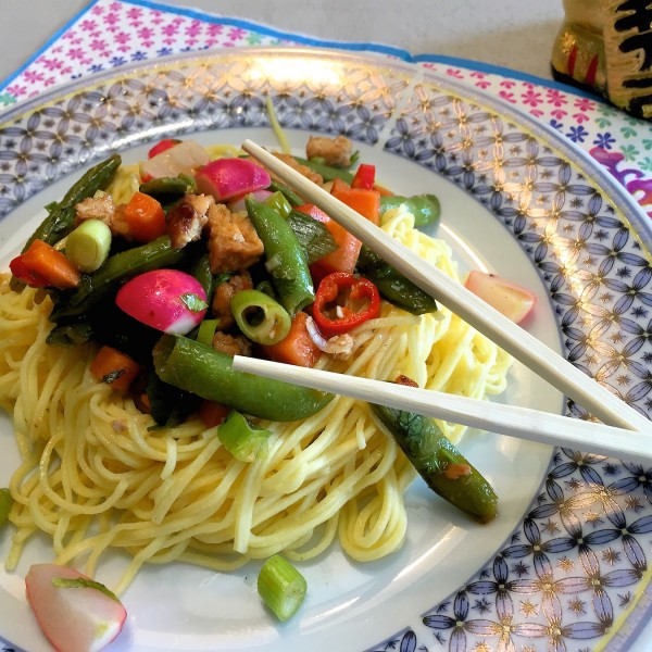 Thaise-noedel-salade 4