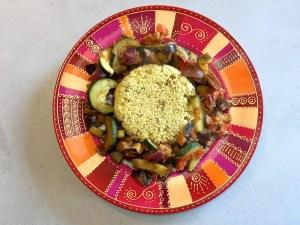 Lekkere arbische groenten met couscous
