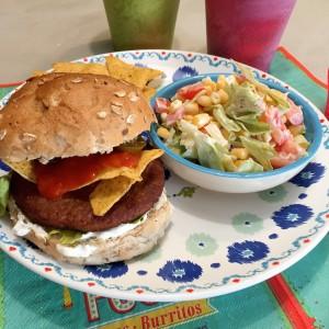 serveersuggestie Salsa burger met jalopeno