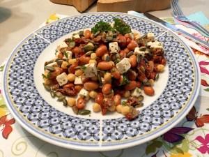 kikkererwtensalade met feta