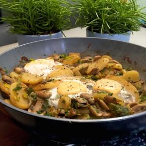 resultaat aardappelschotel