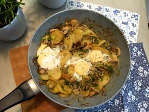 aardappelschotel vegetarisch