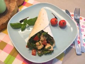 Italian wrap met balsamico